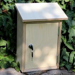 Poštovní schránka ze dřeva k vlastnímu tvoření malá