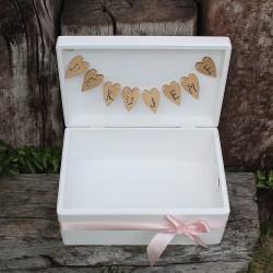 SVATEBNÍ dřevěná krabička DĚKUJEME