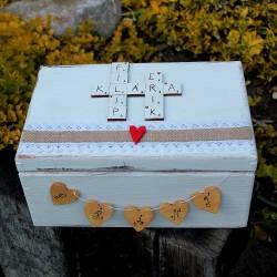 svatební krabička přání