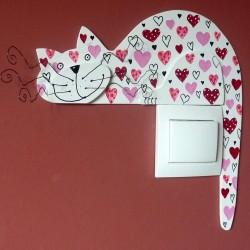 kočka zamilovaná
