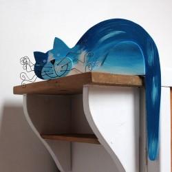 kočka azurová