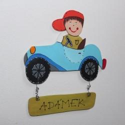 Cedulka na dveře pro malé MOTORISTY