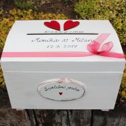 pokladnice svatební pošta