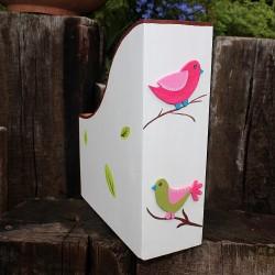 Pořadač ptáčci rosa